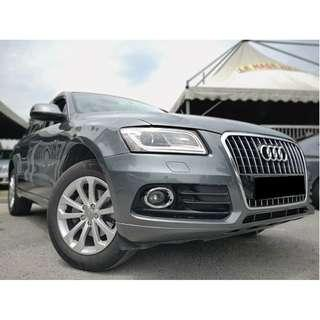 2014 Audi Q5 2.0 TFSI Quattro S-LINE [FULL SERVICED RECORD][FULL LOAN][ONE OWNER][NEW FACELIFT][PROMOTION] 14