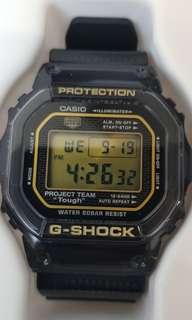 New Casio G shock DW-5030-1 GSET-30-1DR. JDM 30th anniversary collectors.