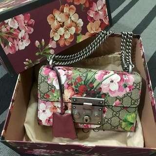 Gucci Padlock Blooms (Reduced Price)