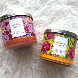 Bath & body works 3-wicks candle