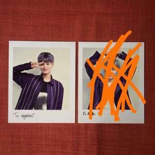 Wanna One Premier Fancon Daehwi Polaroid