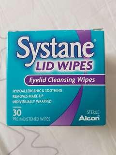 Systane Cleansing Lid Wipes