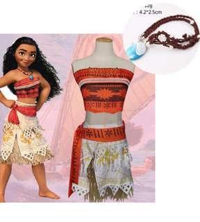 Moana costume Halloween Disney princess
