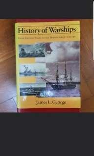 History of warships (history military warfare book)
