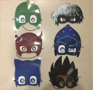 Pj mask laminated mask