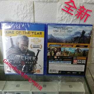 全新PS4 巫師 中英文版