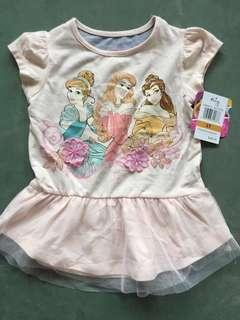 Princess top tshirt authentic size 2yrs-6yrs old