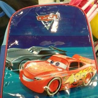TAS RANSEL ANAK CARS bonus tempat pensil senada