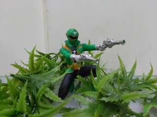 Power ranger green gokaiger gashapon