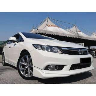 2013 Honda CIVIC 2.0 NAVI (A) ONE OWNER LIKE NEW