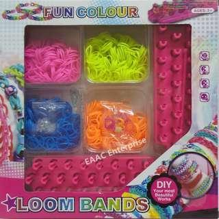 CLEARANCE! DIY Rubber Band Colorful Loom Band Starter Kit Bracelet