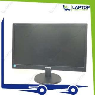 PHILIPS 193V5L 18.5-inch LCD Monitor [Preowned]