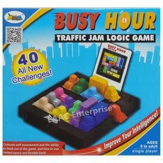 IQ Game & Busy Hour Traffic Jam Logic Game Fun Toys