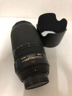 Nikon AFS 70-300mm VR for DX and FX full frame