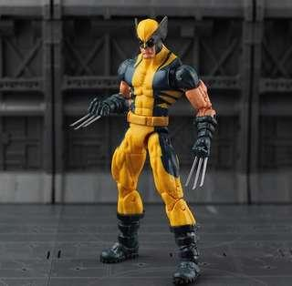 Marvel Legends wolverine puck series marvel