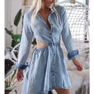 Size 8 Denim Dress