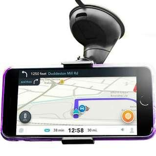 (1136) Olixar Windscreen Phone Mount - Phone Holder For Car Windscreen - Universal Car Windscreen Dock - 360 Degree Rotation - Dock & Go - Universal Compatibility