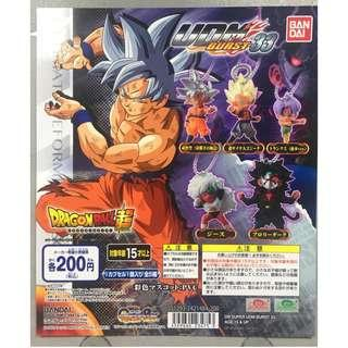 全新 GASHAPON TOY 龍珠超 DRAGON BALL SUPER UDM BURST 33 扭蛋 全5種