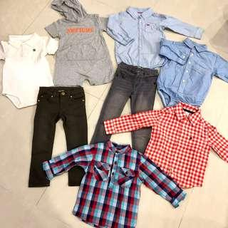 🚚 EUC Branded Boy Bundle (2yo)