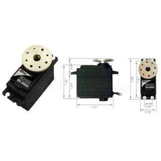 Hitec HSR-5980SG Economical Coreless Digital Programmable High Torque Robot Servo Motor (Steel Gear) Torque at 6.0/7.4V - 24kg.cm/30kg.cm, Speed at 6.0/7.4V - 0.17sec/60°, 0.14sec/60°. Code: HSR-5980SG