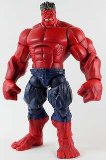 Marvel legends red hulk baf