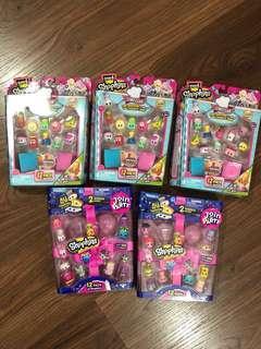 BN Shopkins 12-pack - 5 sets