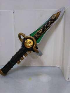 Legendary green ranger dragon sword dragonzord