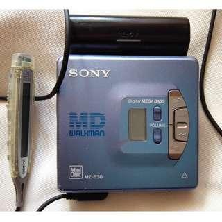 sony md MZ E30