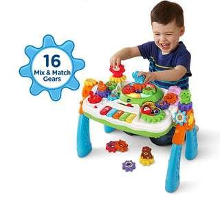 ~Ready Stocked~ VTech GearZooz 2-in-1 Jungle Friends Gear Park Activity Table centre