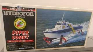 水翼船模型(可改RC)
