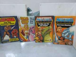Vintage ladybird book masters of the universe he-man