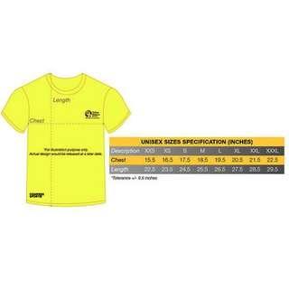 Compressport Yellow Ribbon Prison Run 2018 Tshirt