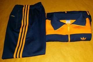 Vintage 古著 70、80s Adidas運動套裝 Size2