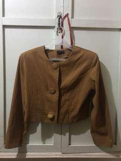 Nude Beige Coat from Japan