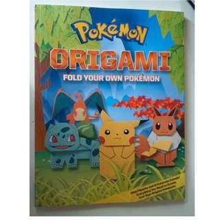 包順豐 Pokemon 小精靈 英文摺紙書 (連所需紙樣) Origami Book