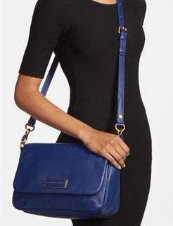Authentic Marc by Marc Jacobs Too Hot to Handle Lea Crossbody Leather Bag