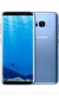 Galaxy s8 blue 64gb
