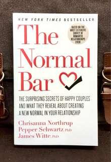 #3×100《Preloved Paperback + How A Couple Can Build Loving, Sustainable And Healthier Relationships 》Chrisanna Northrup - THE NORMAL BAR : The Surprising Secrets of Happy Couples and What They Reveal about Creating a New Normal in Your Relationship