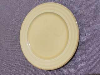 Givenchy yellow salad plate ( with a small chip under)