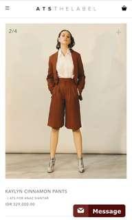 Ats the label anaz siantar kaylyn cinnamon pants size S