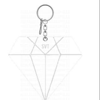 Carat Transparent Keychain