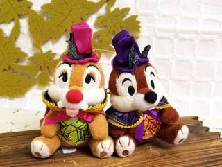 ☆絕版☆ 💯正品(包郵) Tokyo Disney RESORT Halloween Chip n Dale 大鼻 鋼牙 奇奇 蒂蒂