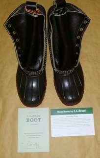 """Vintage 古著 L.L.Bean Men's 8"""" duck boot"""