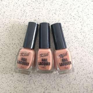 Nude Nail Lacquer Polish