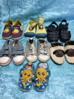 BABY'S SHOES 5 MONTHS UP TO 1 YR+ ( depends on size)