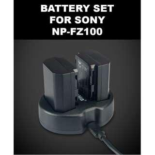 🚚 KingMa npfz100 Battery Charger +3pcs NP FZ100 NP-FZ100 Camera Battery for SONY ILCE-9 A7m3 a7r3 A9/A9R 7RM3 BC-QZ1 Alpha 9 9S 9R