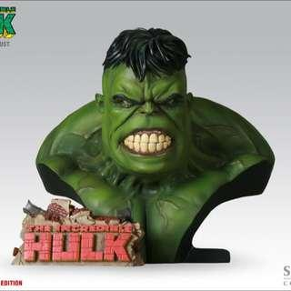 Hulk Legendary Scale Bust Exclusive