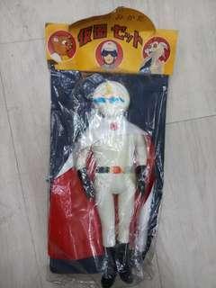 70s 月光幪面俠 海賊版 膠公仔 popy bullmark