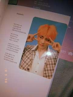 wts bts album with taehyung pc
