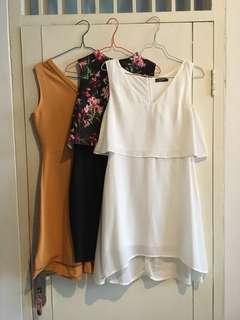 Zalora dress / Midi dress / Semi-formal Dress / Dress kondangan / Sale / Buy 1 get 2